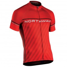 Northwave Logo 3 Jersey Red Black