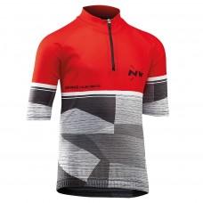 Northwave Origin Junior Jersey SS Red Grey