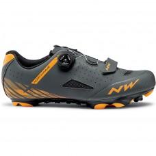 Northwave Origin Plus Cycling Shoes Anthra Orange