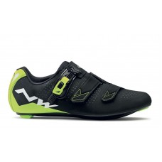 Northwave Phantom 2 SRS Cycling Shoes Black Yellow Fluo