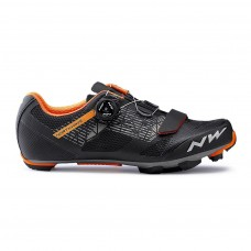 Northwave Razer Cycling Shoes Black Forest Orange
