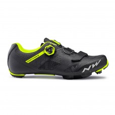 Northwave Razer Cycling Shoes Black Yellow Fluo