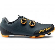 Northwave Rebel 2 Cycling Shoes Anthra Orange