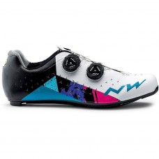 Northwave Revolution 2 Cycling Shoes White Black Blue