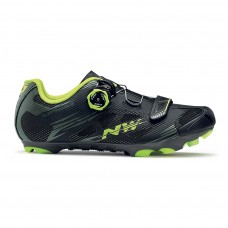Northwave Scorpius 2 Plus Cycling Shoes Black Mil Yellow