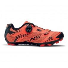 Northwave Scorpius 2 Plus Cycling Shoes Lobster Orange Black