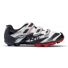 Northwave Scorpius 2 Plus Cycling Shoes White Black Red