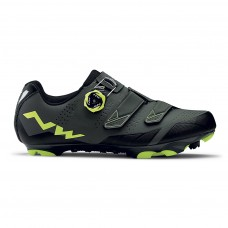Northwave Scream 2 Plus Cycling Shoes Black Grey Yellow Fluo