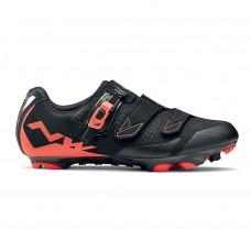 Northwave Scream 2 SRS Cycling Shoes Black Lobster Orange