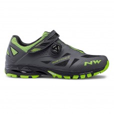 Northwave Spider Plus 2 Cycling Shoes Anthra Green