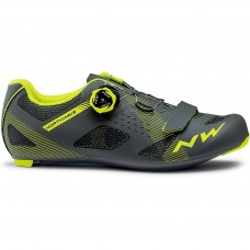 Northwave Storm Cycling Shoes Anthra Yellow Fluo