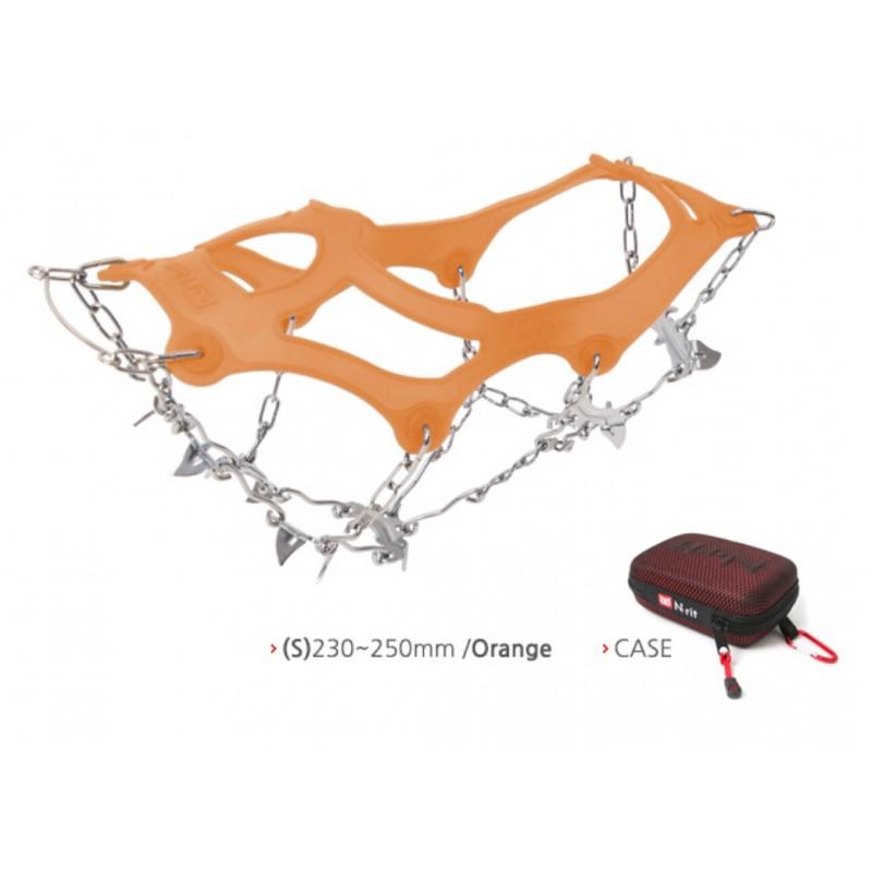 N-Rit Eisen Snowkick 13 Orange