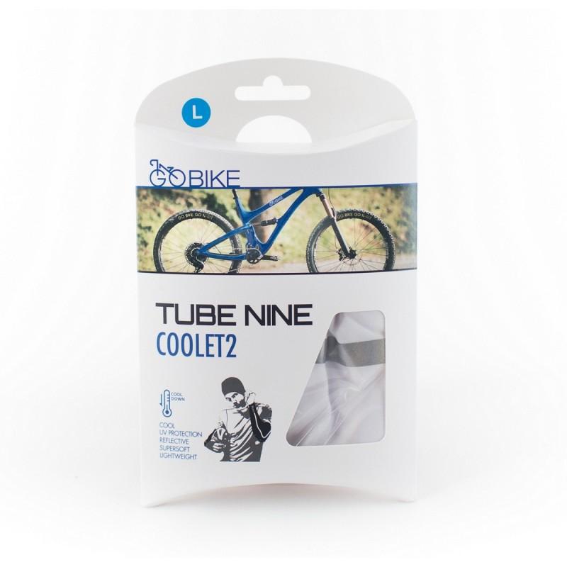 N-Rit Go Bike Tube Nine Coolet 2 White Large