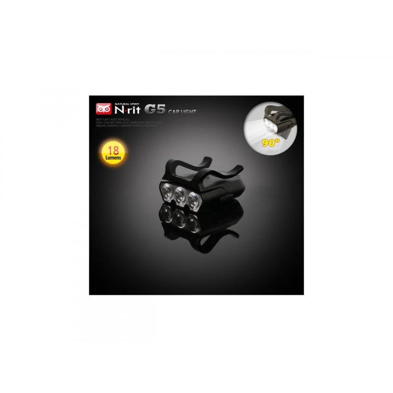 N-Rit Master Vision 3 Led Swivel Cap Light