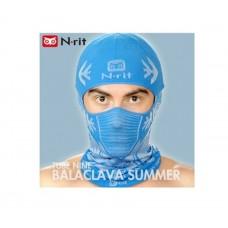 N-Rit Tube 9 Cool Balaclava Headwear Blue