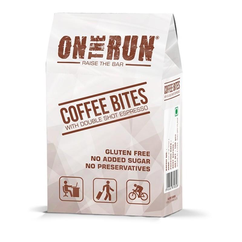 On The Run Coffee Bites Energy Bar