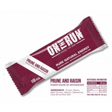 On The Run Prune and Raisin Energy Bar