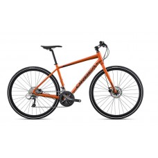 Orbea Vector 10 Hybrid Bike 2018 Orange Black