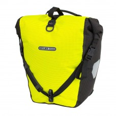 ORTLIEB Back-Roller High Visibility Pannier Neon Yellow-Black Reflex