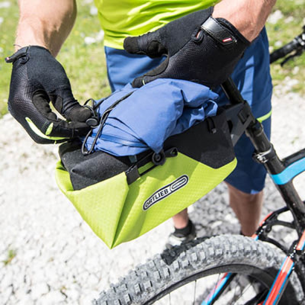 Ortlieb Seatpost Bag Small Lime Black