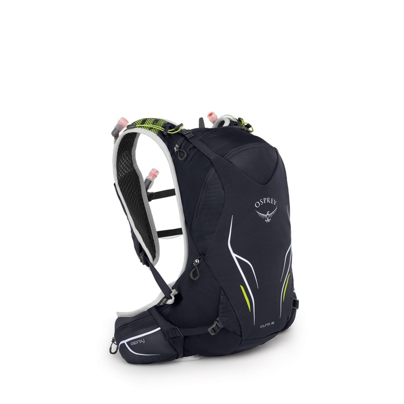 Osprey Duro 15 Hyration Vest Pack With 2.5L Reservoir Alpine Black