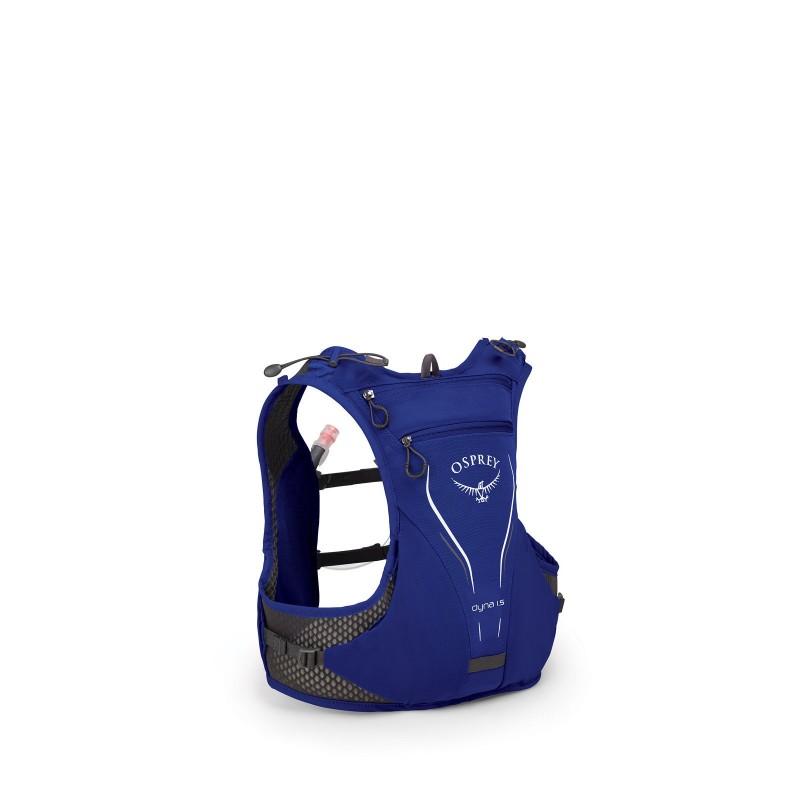 Osprey Dyna 1.5 Hydration Vest Pack With 1.5L Reservoir Purple Storm