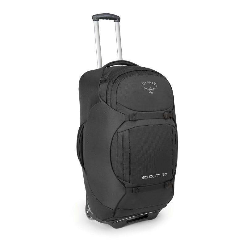 """Osprey Sojourn 80L/28"""" Wheeled Bag Flash Black"""