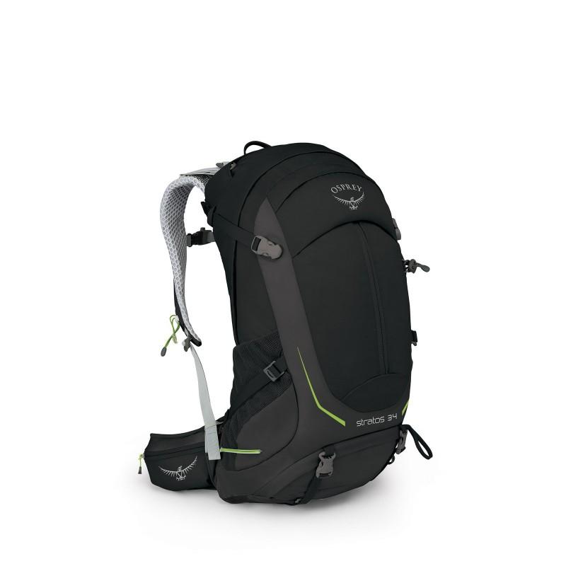 Osprey Stratos 34 Travel Backpack Black