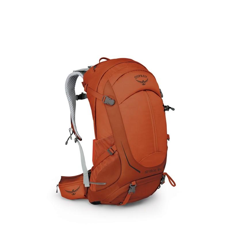Osprey Stratos 34 Travel Backpack Sungrazer Orange