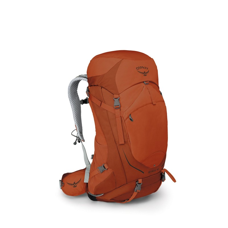 Osprey Stratos 50 Travel Backpack Sungrazer Orange