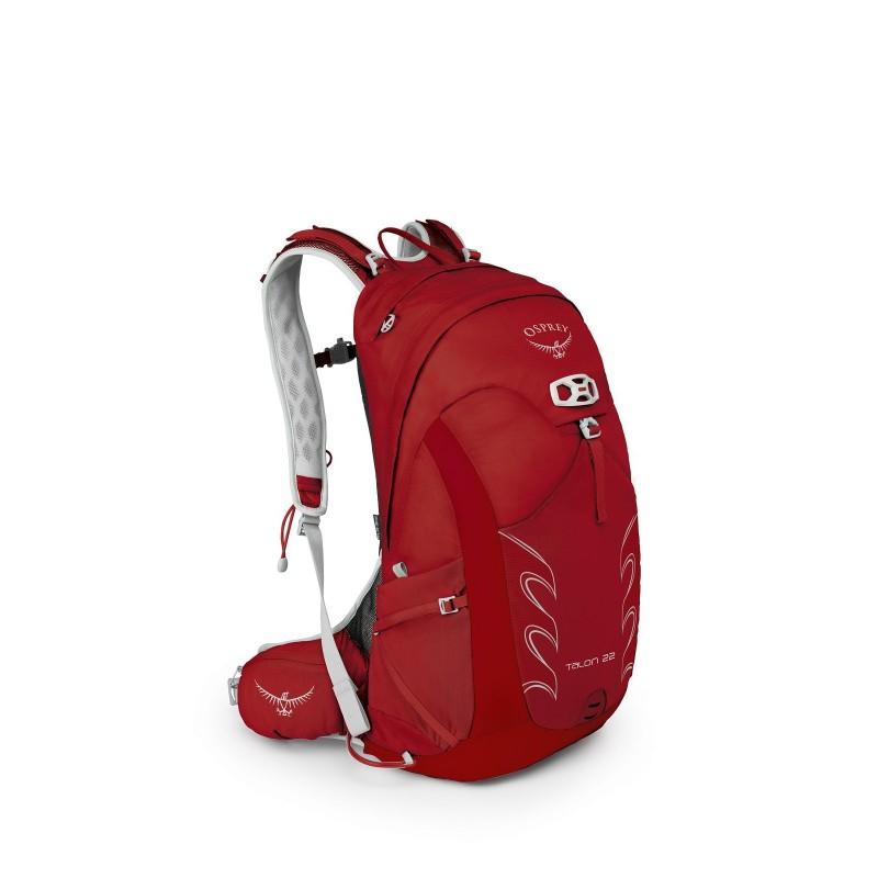 Osprey Talon 22 Travel Backpack Martian Red