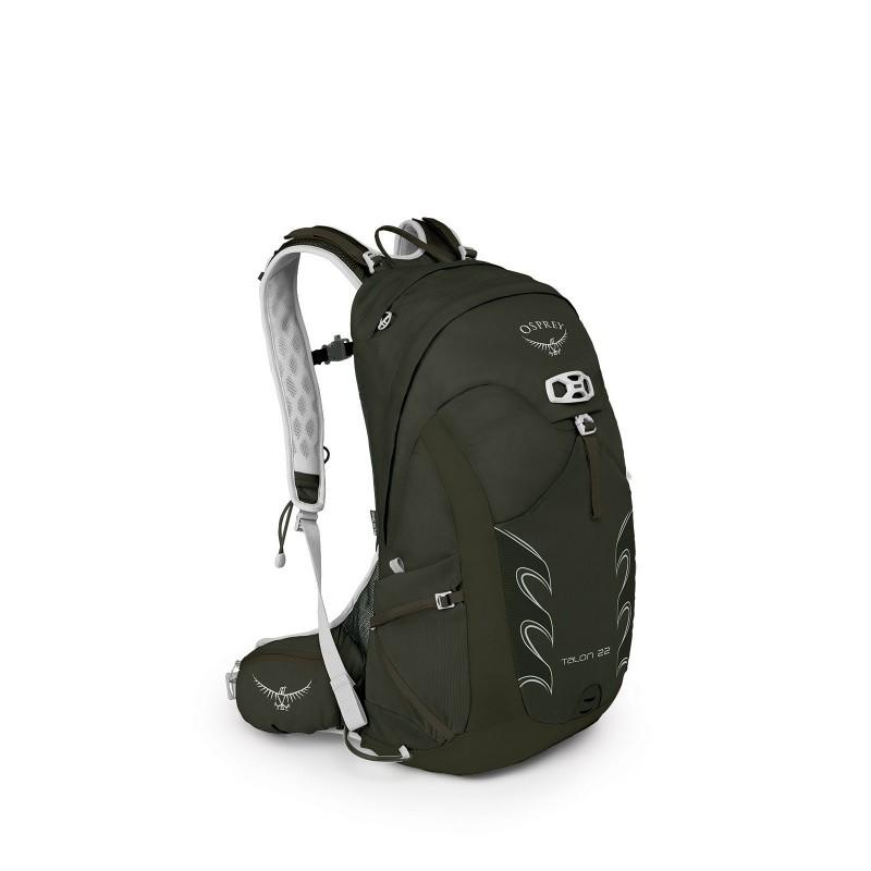 Osprey Talon 22 Travel Backpack Yerba Green