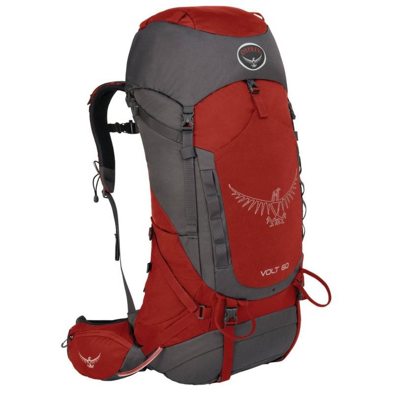 Osprey  Volt 60 Travel Backpack Carmine red