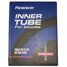 Panaracer 26x1.75-2.20 Presta 48mm Valve MTB Cycle Tube
