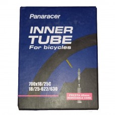 Panaracer 700x18/25c Presta Road Tube Removable Valve 48mm (PAR-718-48F-RV)