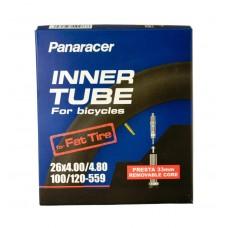Panaracer (26X4.0/4.8) Presta 33mm Removable Valve Cycle Tube