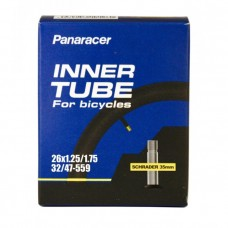 Panaracer Size 26x1.25-1.75 Schraeder Valve Bicycle Tube