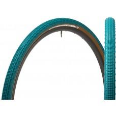 Panaracer Gravelking SK Nile 700x43c Blue Aramid Brown Sidewell Tubeless Foldable Hybrid Bike Tyre