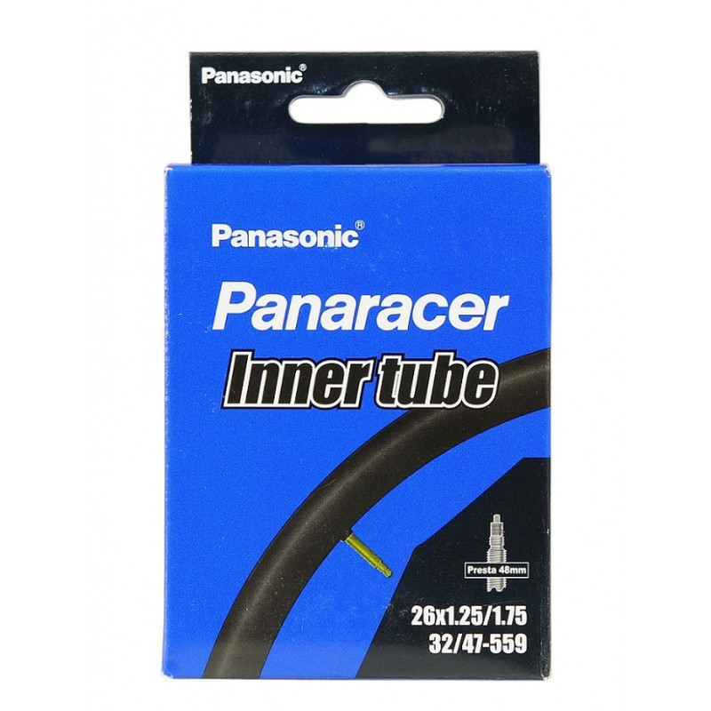 Panaracer Standard 26x1.25-1.75 Presta Valve Cycle Inner Tube 48mm