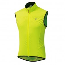 Pearl Izumi 2310-8 stretch wind shell vest neon yellow