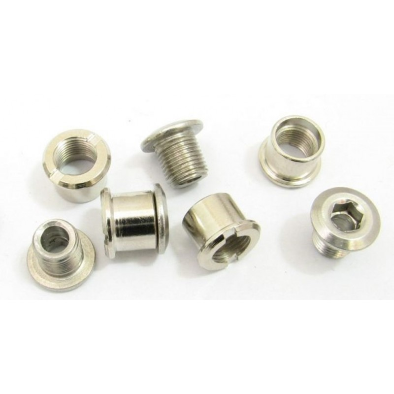 Pilo Double Chain Ring Crank Bolts-Set Of 4 Nb12