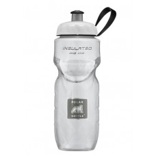 Polar Insulated Sports Water Bottle-Color White-20oz 590ml