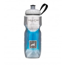 Polar Insulated Sports Water Bottle-Fade Blue-20oz 590ml