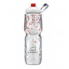 Polar Insulated Sports Water Bottle-BreakAway Orange (Zipstream Cap)-24oz 710ml