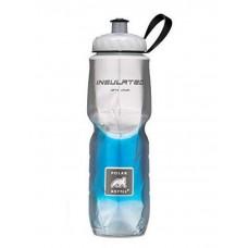 Polar Insulated Sports Water Bottle-Fade Blue-24oz 710ml