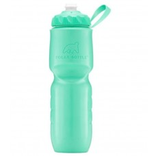 Polar Insulated Sports Water Bottle-Color Series-Mint (Zipstream Cap)-24oz 710ml