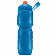 Polar Insulated Sports Water Bottle-Color Series-Royal (Zipstream Cap)-24oz 710ml