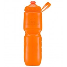 Polar Insulated Sports Water Bottle-Color Series-Tangerine (Zipstream Cap)-24oz 710ml