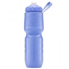 Polar Insulated Sports Water Bottle-Color Series-Violet (Zipstream Cap)-24oz 710ml