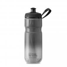Polar Sport Insulated Water Bottle Fade Charcoal/Silver 590ml